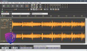 تحميل برنامج audacity مونتاج الصوت واضافة المؤثرات الصوتية 1